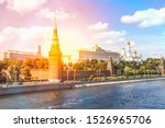view from the bridge to the... | Shutterstock . vector #1526965706