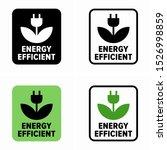 energy efficient  eco power... | Shutterstock .eps vector #1526998859