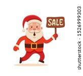 cartoon santa claus for your... | Shutterstock . vector #1526999303