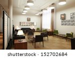 office space interior | Shutterstock . vector #152702684