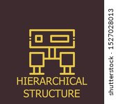 outline hierarchical structure... | Shutterstock .eps vector #1527028013