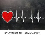 heartbeat character and design  ... | Shutterstock . vector #152703494
