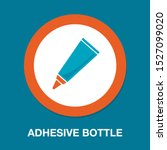 glue tube icon  vector adhesive ... | Shutterstock .eps vector #1527099020