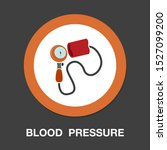 blood pressure equipment icon   ... | Shutterstock .eps vector #1527099200