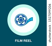 vector film reel illustration ... | Shutterstock .eps vector #1527099206