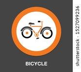 vector bicycle icon  vector... | Shutterstock .eps vector #1527099236
