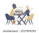 express manicure service flat...   Shutterstock .eps vector #1527099293