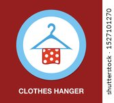 vector clothes hanger   fashion ... | Shutterstock .eps vector #1527101270