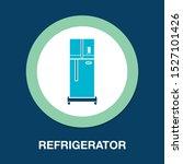 refrigerator illustration  ...   Shutterstock .eps vector #1527101426