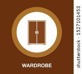vector wardrobe illustration...   Shutterstock .eps vector #1527101453