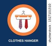 vector clothes hanger   fashion ... | Shutterstock .eps vector #1527101510