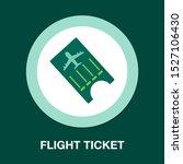 flight ticket icon   flight...   Shutterstock .eps vector #1527106430