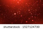 Luxury Red Particle Glitter...