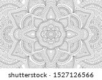 beautiful monochrome... | Shutterstock .eps vector #1527126566