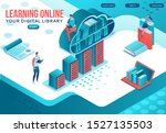 library online isometric...