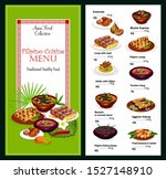Filipino Cuisine Vector Menu ...