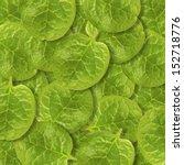Stack Of Fresh Malabar Spinach...