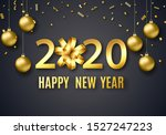 2020 new year background for... | Shutterstock .eps vector #1527247223