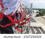 businessmen and engineers... | Shutterstock . vector #1527254333