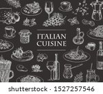 italian cuisine vector... | Shutterstock .eps vector #1527257546