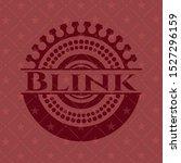 blink red emblem. vector... | Shutterstock .eps vector #1527296159
