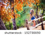 pretty little girl relax on... | Shutterstock . vector #152730050