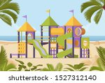 playground system playing... | Shutterstock .eps vector #1527312140