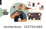 coffee shop   small business... | Shutterstock .eps vector #1527321683