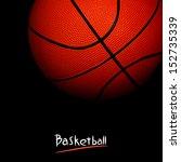 basketball | Shutterstock . vector #152735339