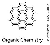organic chemical science glyph... | Shutterstock .eps vector #1527363836