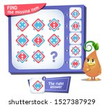 educational game for kids and... | Shutterstock .eps vector #1527387929