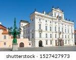 Historic Square At The Hradcany ...