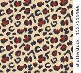 leopard skin. animal print.... | Shutterstock .eps vector #1527511466