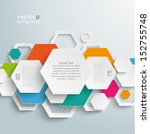 infographic design with... | Shutterstock .eps vector #152755748