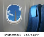 Airplane Seat And Window Insid...