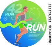 runner design presentation 1... | Shutterstock .eps vector #1527619856
