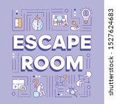 escape room word concepts...