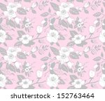 seamless pattern with a branch...   Shutterstock .eps vector #152763464