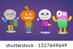 flat color cartoons design for... | Shutterstock . vector #1527649649