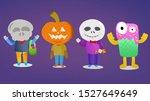 flat color cartoons design for... | Shutterstock . vector #1527649649