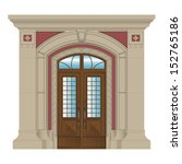 Vector Image  Stone Entrance Of ...