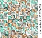 geometric hipster background | Shutterstock .eps vector #152766659