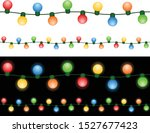 vector illustration of a string ... | Shutterstock .eps vector #1527677423
