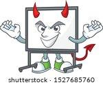 Devil White Board Cartoon...