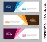 vector abstract design web... | Shutterstock .eps vector #1527687956