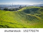 auckland skyline from mount eden | Shutterstock . vector #152770274