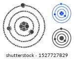 solar system composition of...   Shutterstock .eps vector #1527727829
