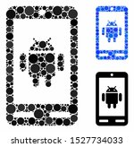 android phone composition of...   Shutterstock .eps vector #1527734033