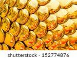 golden dragon texture... | Shutterstock . vector #152774876