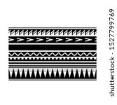 polynesian tattoo arm band... | Shutterstock .eps vector #1527799769